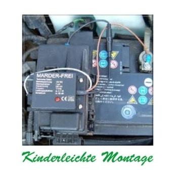 KFZ Marderschutz Marderscheuche Marderfrei einbau Kinderleicht für alle Fahrzeuge geeignet - 2