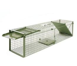 KrapTrap® Marderfalle Tierfalle Katzenfalle Lebendfalle 116 x 29 x 29 cm - 1