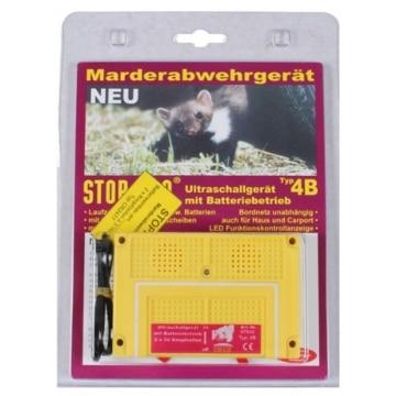 STOP & GO Ultraschall Marder-Abwehrgerät 07533 Batteriebetrieb Marderschreck 4B - 2