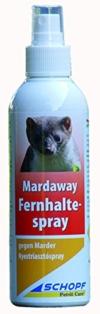 Schopf 302300 Mardaway Marder Fernhaltespray Vergrämungsmittel KFZ-Schutz, 200 ml - 1